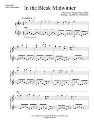 In the Bleak Midwinter (piano solo)