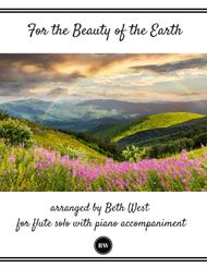 For the Beauty of the Earth (Flute and Piano)