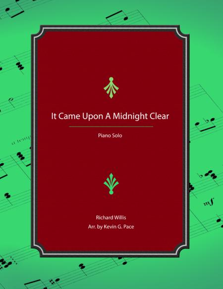 It Came upon the Midnight Clear - Advanced Piano Solo