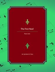 The First Noel - advanced piano solo