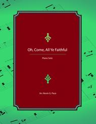 Oh, Come, All Ye Faithful - advanced piano solo