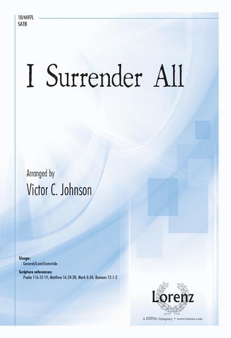 I Surrender All