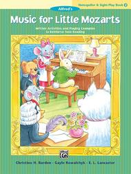Music for Little Mozarts Notespeller & Sight-Play Book, Book 2