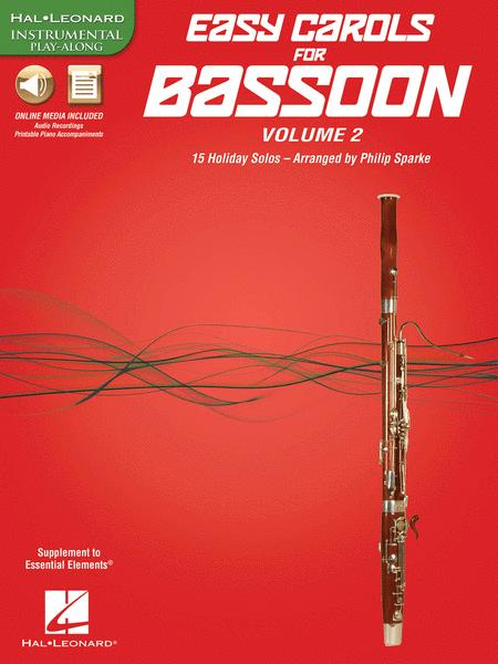 Easy Carols for Bassoon, Vol. 2