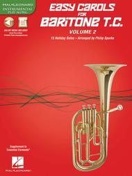 Easy Carols for Baritone T.C. - Vol. 2