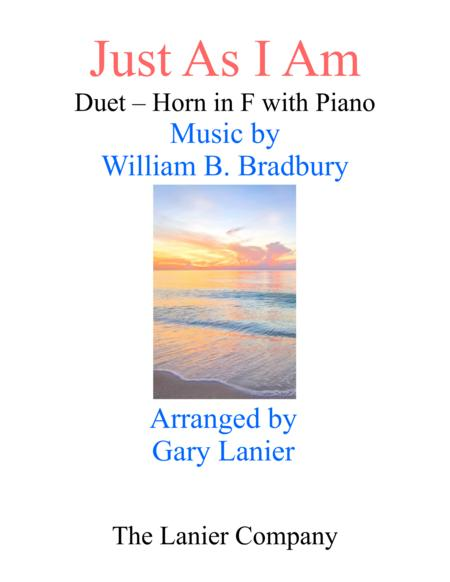 Gary Lanier: JUST AS I AM (Duet –  Horn in F & Piano with Parts)
