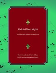 Alleluia (Silent Night) - vocal solo or duet for alto voice with piano accompaniment