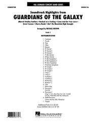 Soundtrack Highlights from Guardians of the Galaxy - Conductor Score (Full Score)