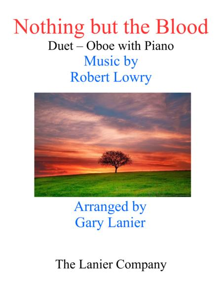 Gary Lanier: NOTHING BUT THE BLOOD (Duet –  Oboe & Piano with Parts)