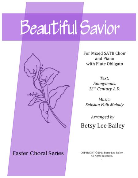 Beautiful Savior - for Mixed SSATB Chorus and Piano with Flute Obligato