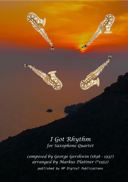 I Got Rhythm for Sax Quartet