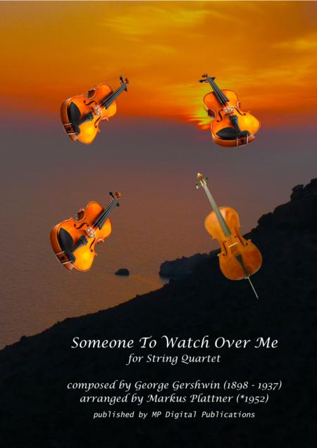Someone To Watch Over Me for String Quartet