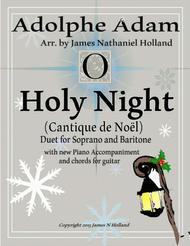 O Holy Night (Cantique de Noel) Adolphe Adam Duet for Baritone and Soprano (Tenor)