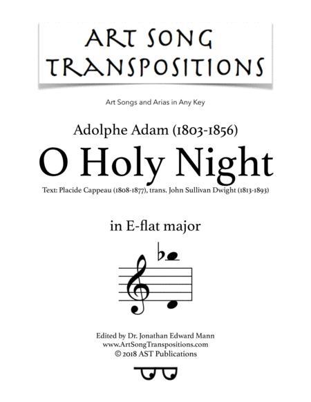 O Holy Night (E-flat major)