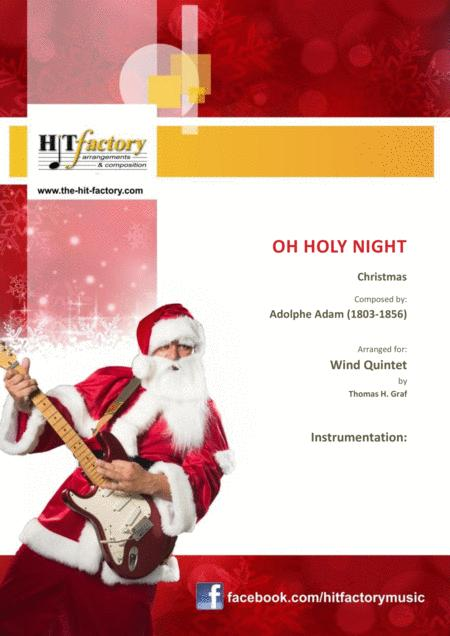 Oh holy night - Cantique de Noël - Christmas Song - Wind Quintet