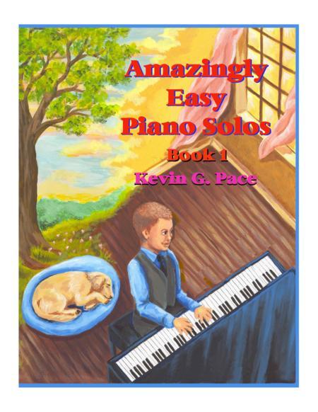 Amazingly Easy Piano Solos - book 1