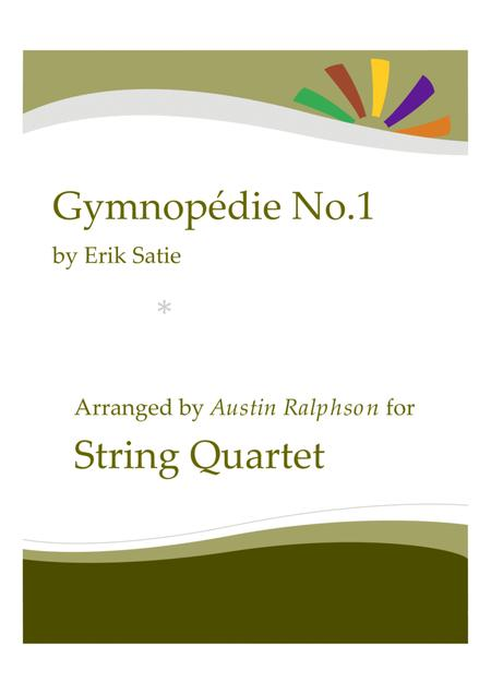 Gymnopedie No.1 - string quartet