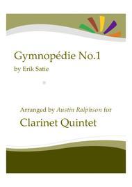 Gymnopedie No.1 - clarinet quintet