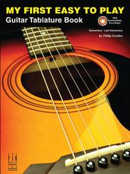 My First Easy to Play Guitar Tablature Book