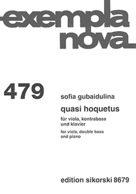 Quasi Hoquetus
