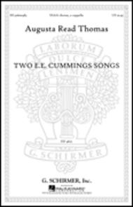 Two E.E. Cummings Songs