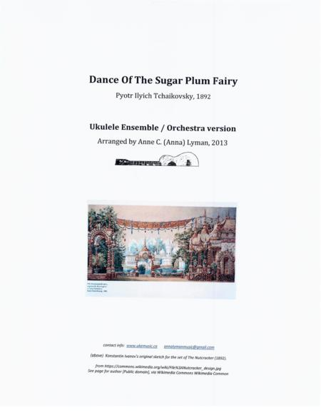 Dance Of The Sugar Plum Fairy - UKULELE ENSEMBLE / ORCHESTRA  (Both C-Ukulele and Baritone), Opening Section