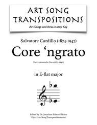 Core 'ngrato (E-flat major)