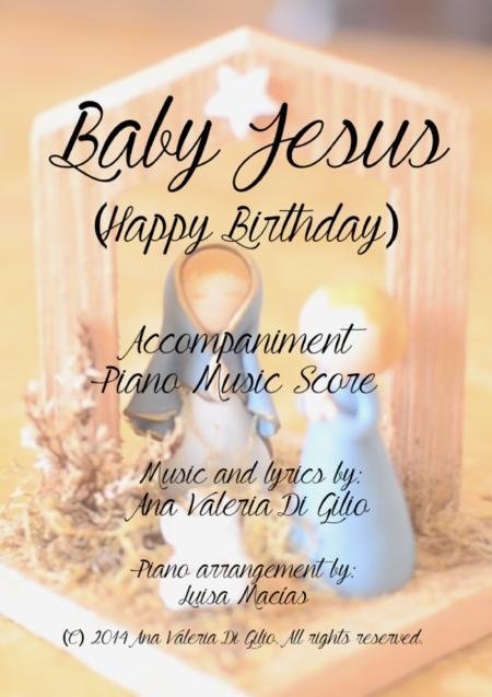 BABY JESUS (Happy Birthday) - Accompaniment Piano