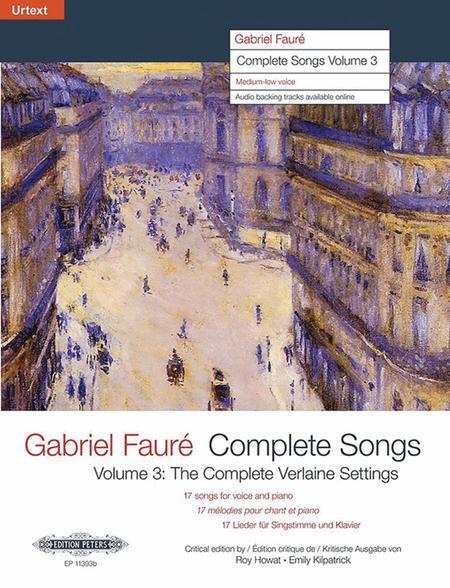 Complete Songs Volume 3