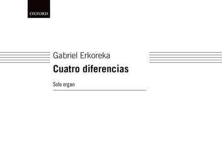 Cuatro diferencias (version for organ solo)
