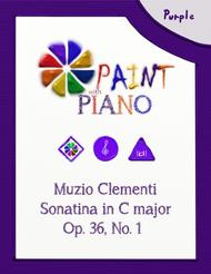 Clementi Sonatina No. 1, Op. 36 (easy to read edition)