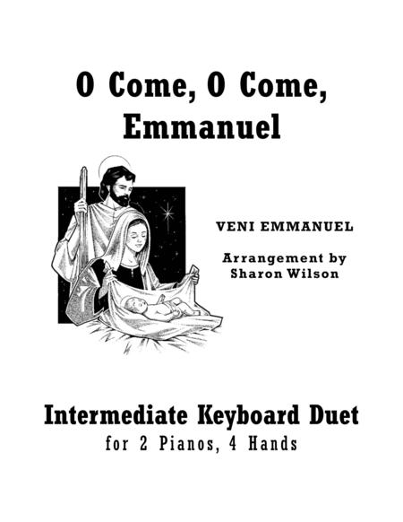 O Come, O Come, Emmanuel (2 Pianos, 4 Hands Duet)