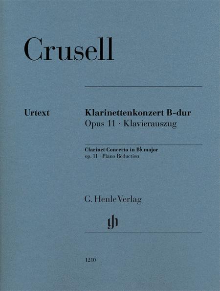 Clarinet Concerto in B-flat Major, Op. 11