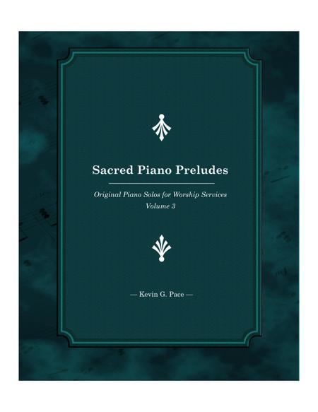 Sacred Piano Preludes - book 3