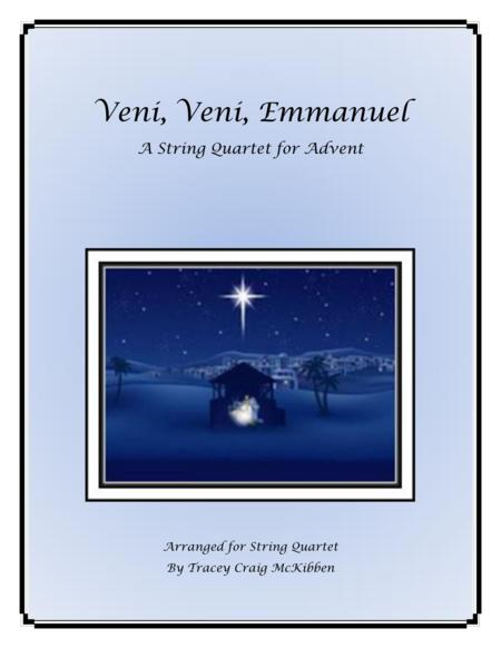 Veni, Veni, Emmanuel for String Quartet