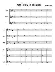 Hymn for Three Violins