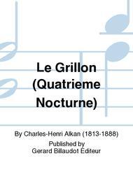 Le Grillon (Quatrieme Nocturne)