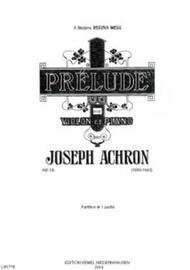 Prelude : pour violon et piano, op. 13