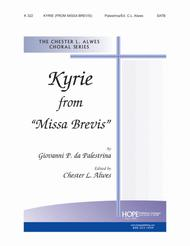 Kyrie From 'Missa Brevis'