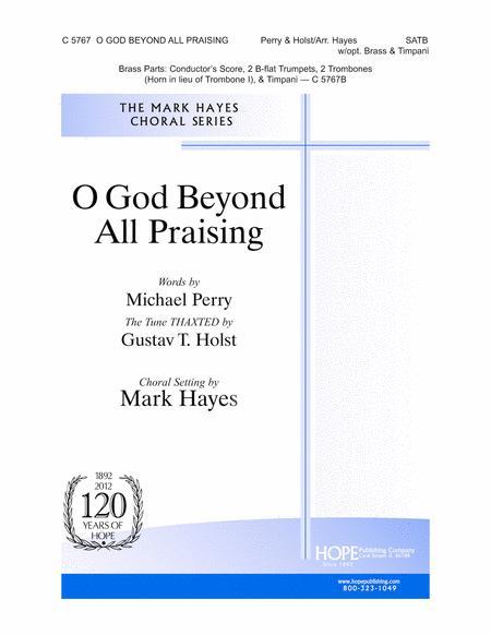 O God Beyond All Praising
