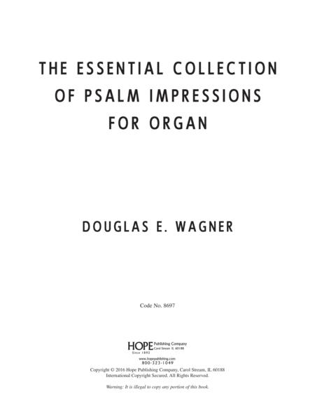 The Essential Collection of Psalm Impressions For Organ