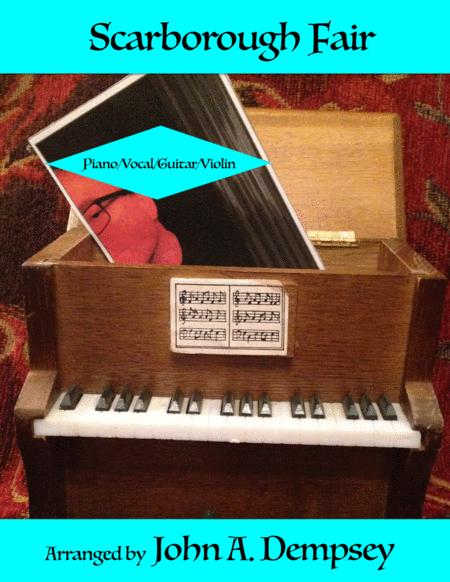 Scarborough Fair (Piano/Vocal/Guitar/Violin)