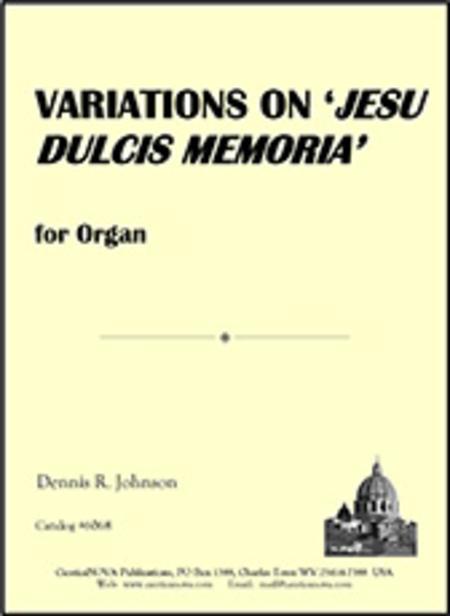 Variations on 'Jesu dulcis memoria'