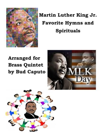 Martin Luther King Favorites for Brass Quintet