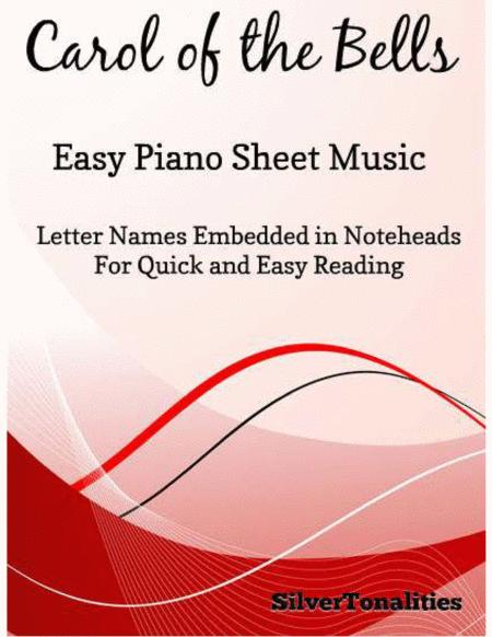 Carol of the Bells Easy Piano Sheet Music