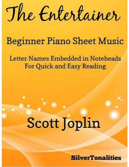 The Entertainer Beginner Piano Sheet Music