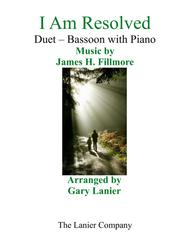 Gary Lanier: I AM RESOLVED (Duet – Bassoon & Piano with Parts)