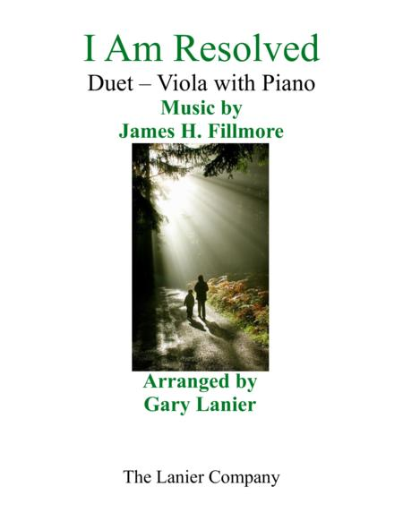 Gary Lanier: I AM RESOLVED (Duet – Viola & Piano with Parts)