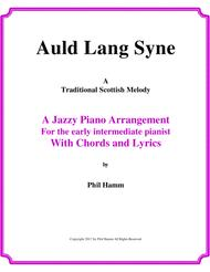 Jazzy-Auld Lang Syne