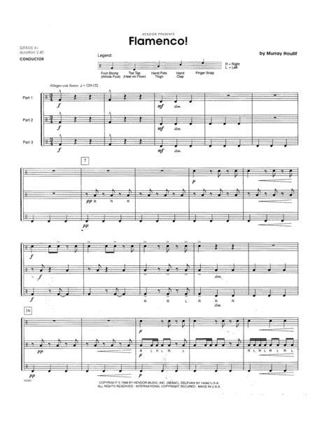 Flamenco! - Full Score